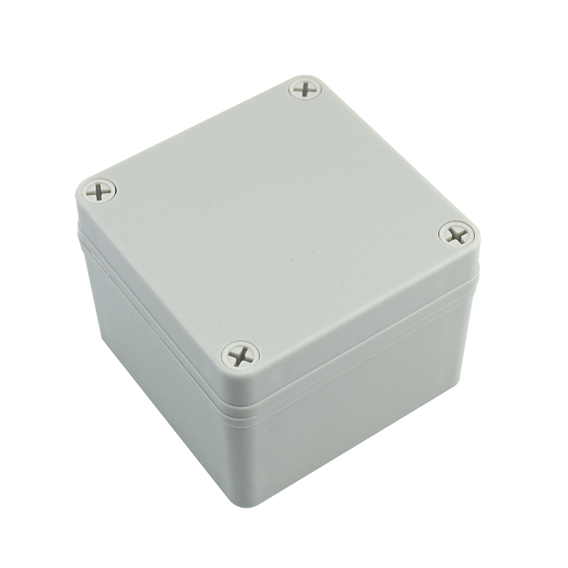 Custom 100*100*75 small mini waterproof abs plastic boxes electronic for projects