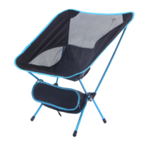 Guangtuo steel black detachable sand lawn ground beach hiking Ultralight folding camping chair