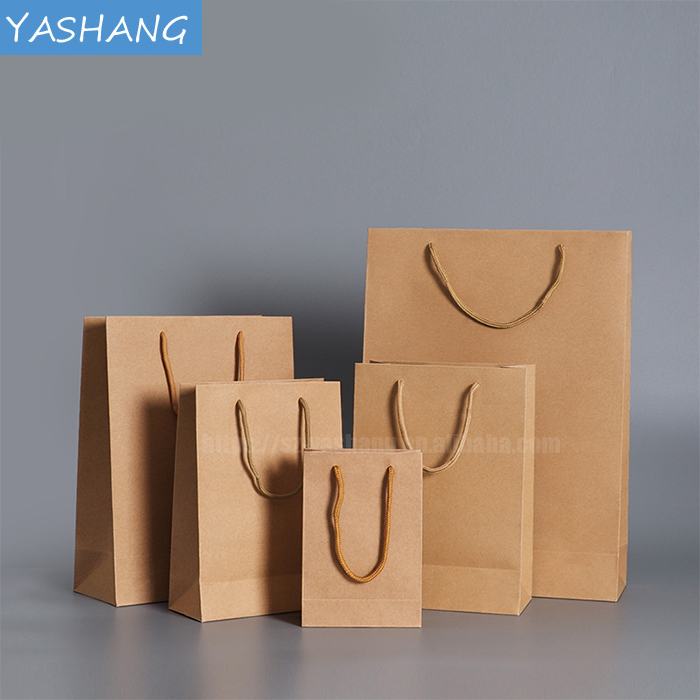Tea shipping packaging kraft paper printing logo custom craft paper bag