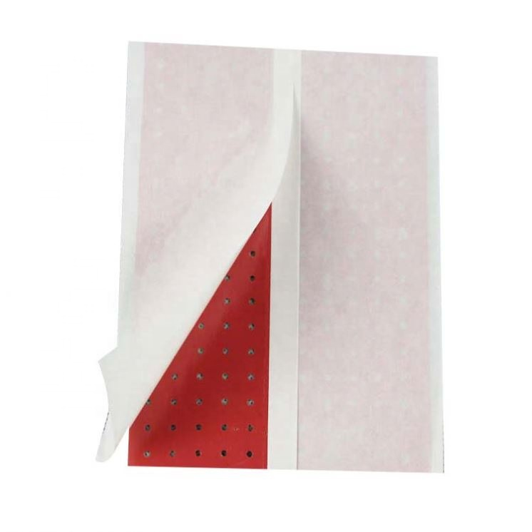 Zinc oxide adhesive perforated plaster , aperture adhesive plaster from China