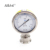 YTP-98HF7 Small Gas Pressure Test Gauge 63mm 98mm All Stainless Steel High Precision