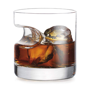 Wholesale Customized Round whisky wine glass 320ml Crystal cigar glass cup