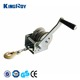 High-quality 800lbs mini portable small boat trailer manual hand winch cable winch hand wire rope winch