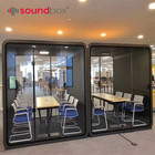 Soundproof booth office conference meeting pod with 4000K natural light