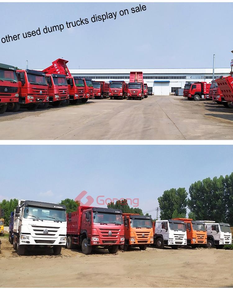 Custom ทำ 16 18 20 m3 ใช้ sino รถบรรทุก dump howo สำหรับขายแทนซาเนียฯลฯ