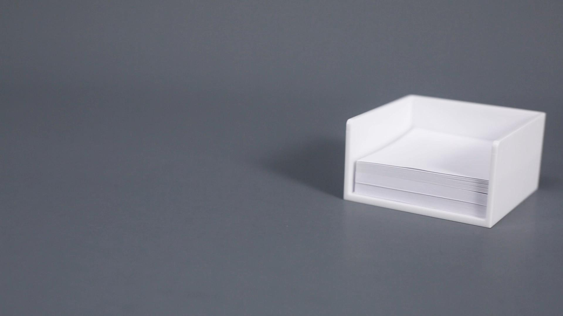 Wholesale Plastic Desktop Business Card Holder name card holder for desk