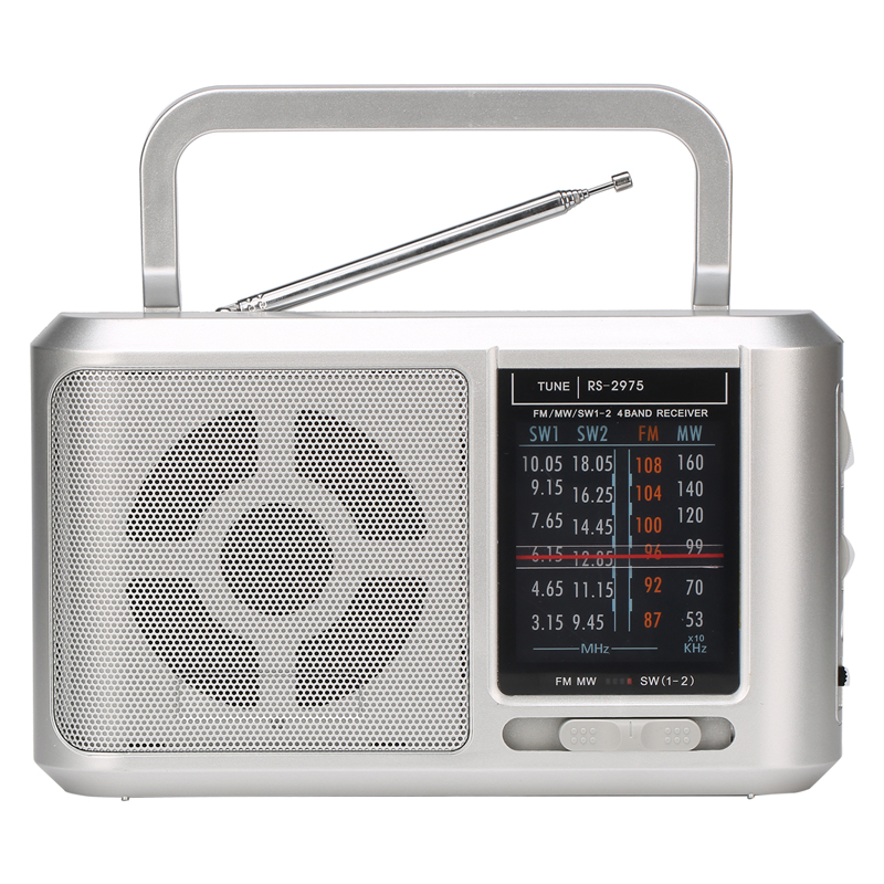 Radio Gelombang Pendek Online Tuner Dual Power Supply Portable AM FM SW Radio untuk Dijual