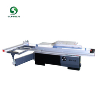 panel saw sliding table saw machine cutting ABS board, organic glass and solid wood