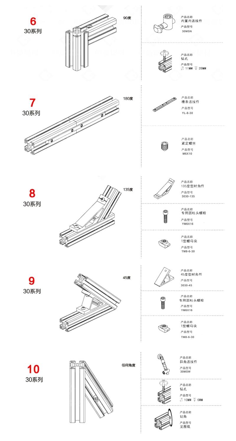Linear Motion Actuators Pukido 400mm Length 4040 T Slot Aluminum ...