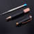 Stationery Gift Factory High Quality Rose gold with Black Metal Screw Ballpoint Pen Luxury Business Advertising Boligrafo