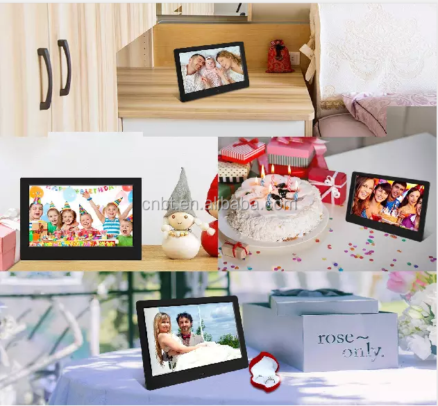 7 inch IPS screen Cloud (5G/WIFI)Digital Photo Frame support photo, video, movie playing