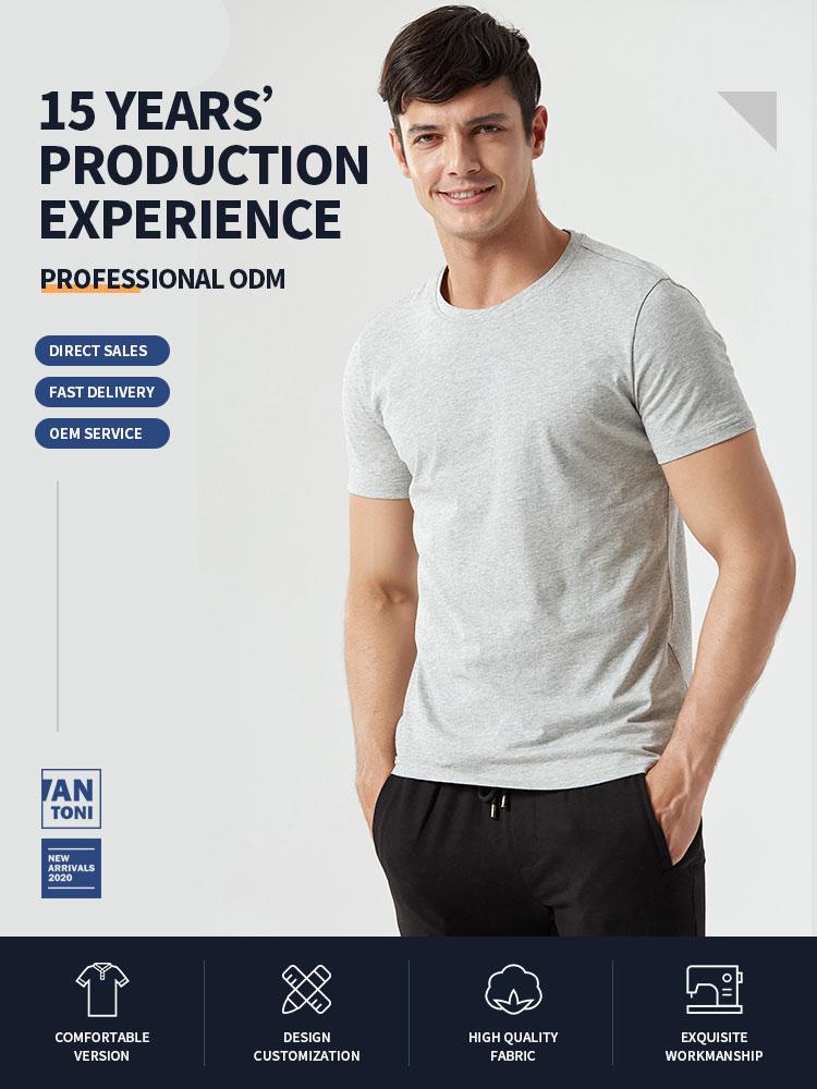 Kundenspezifische t-shirt Lässig kurzarm blank rundhals 100% baumwolle t-shirt mann für t-shirt druck für Anpassbare logo
