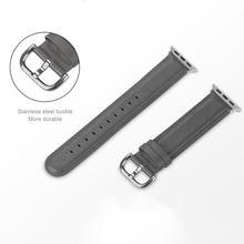 UTHAI A25 Apple Watch кожаный ремешок 38 мм 40 мм 42 мм 44 мм для Apple Watch band 4/5 для iWatch 1/2/3/4/5 series 38/40/42/44 мм ремешок(Китай)