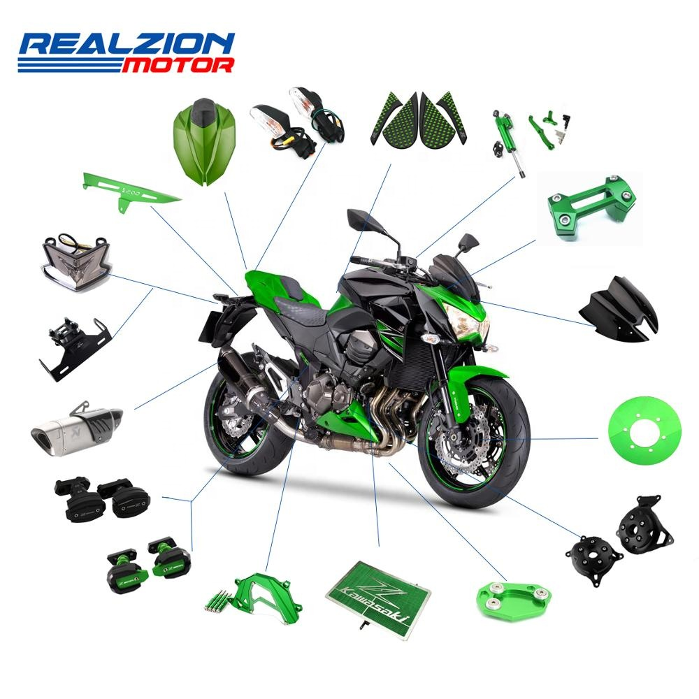 REALZION Motorcycle Accessories For KAWASAKI Z800