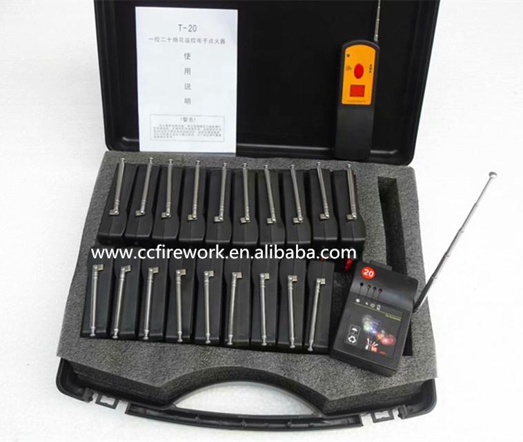 T20 система дистанционного управления стрельбы для холодного Пиро фейерверка