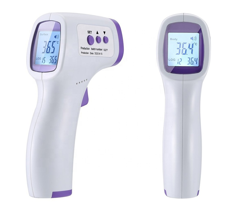 Honggao Forehead Non-contact Digital Infrared Thermometer for Baby Adult Object, Whitelist, Certificate Approved