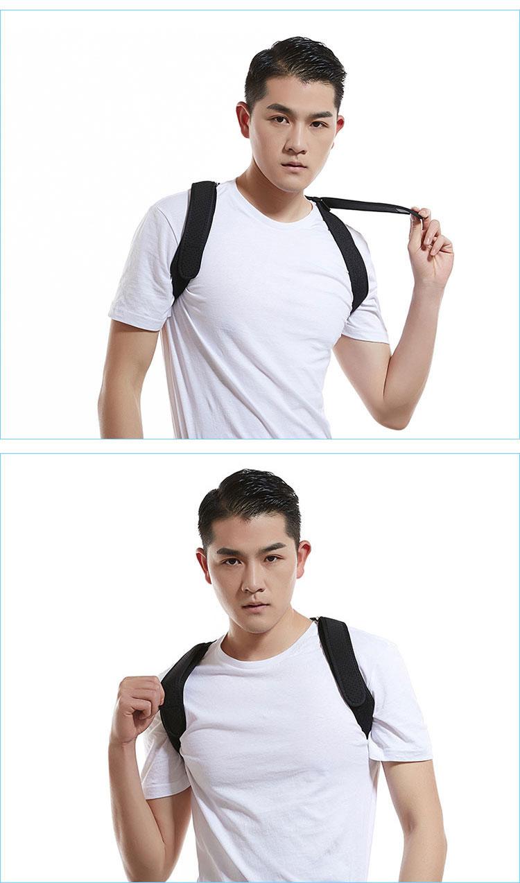 Fix Shoulder Posture Support Belt Adjustable Back Posture Corrector Posture