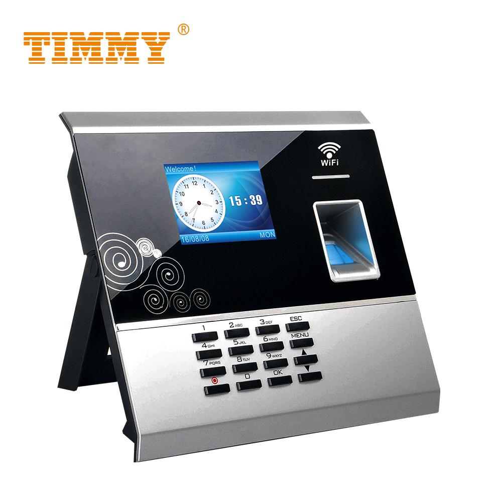 TIMMY Biometric Fingerprint Time Attendance Wifi Clocking In Attendance Time Recorder