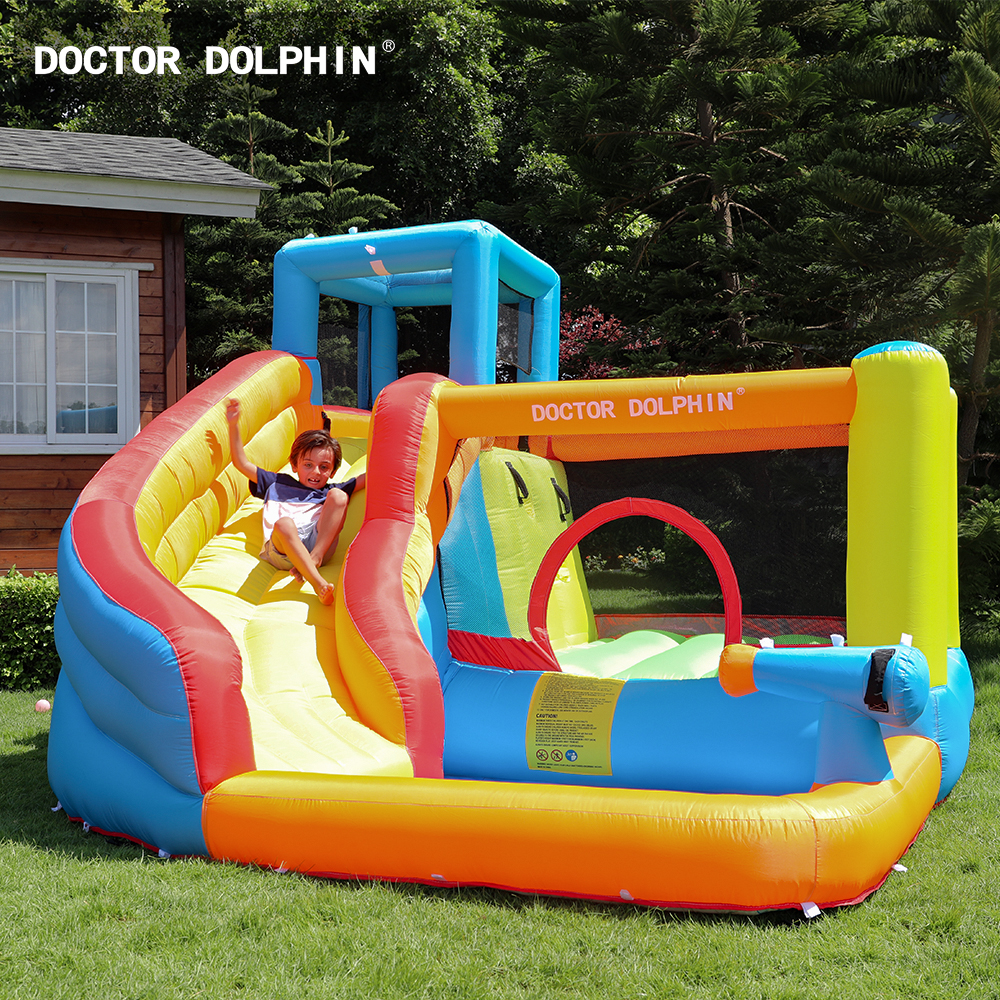 Customization Children Bouncy House Inflatable Jumping Castle Water Park For Buy