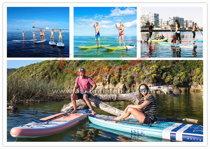 SUP Windsurfen Aufblasbare Surfbrett, Aufblasbare Paddle Board Für SUP Yoga, Alle-runde SUP