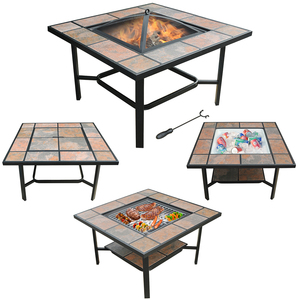 patio furniture fire pit wtih factory direct modern designed high quality outdoor ceramic fire pit