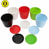 OEM plastic flower pot with different color Nursery Flower Pot Pots