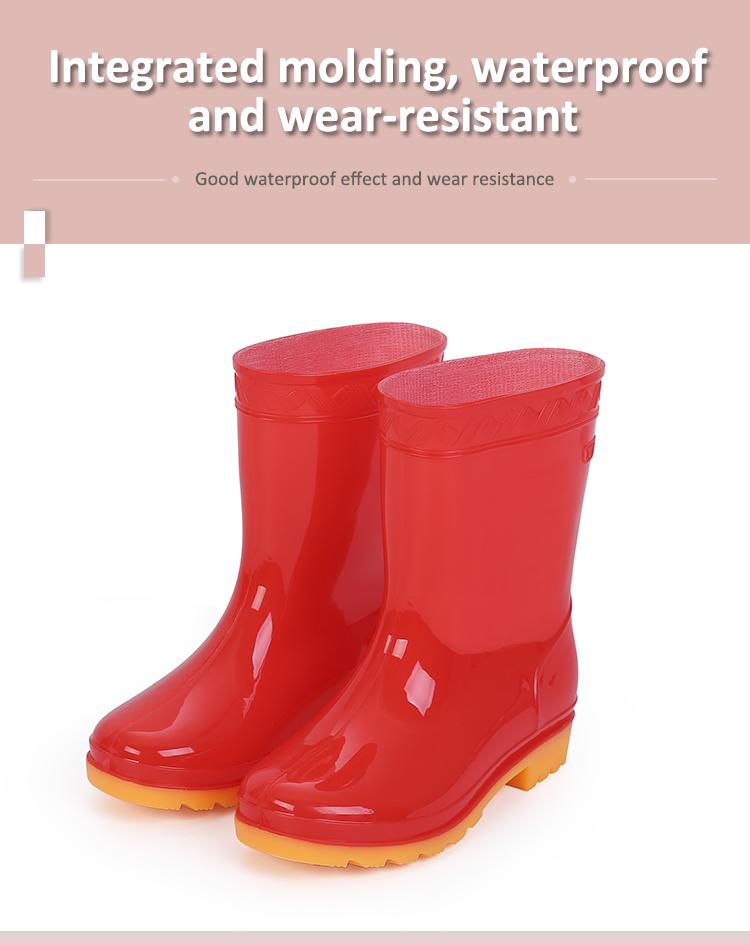 CHILDRENS RAINBOW WATERPROOF KIDS GIRLS RAIN RUBBER WELLIES WELLINGTON BOOTS SZ