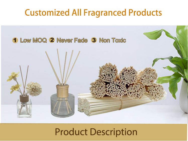Amazon Hot Sale bamboo rattan stick for reed diffuser