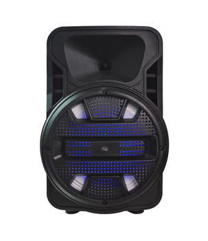 8 inch speaker Subwoofer trolley speaker karaoke subwoofer portable bluetooth speaker with wireless mic