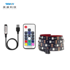 Smd 5050 Rgb Led Led Rgb Led Strip Ip65 Smart DC5V USB 1M 2M TV Background Lighting Adhesive Tape IP20 / IP65 Flexible SMD 5050 USB RGB LED Strip