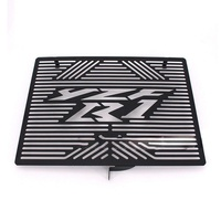 REALZION Motorcycle Oil Cooler Radiator Protecter Cover Grille Guard For YAMAHA R1 2009 2010 2011 2012 2013 2014