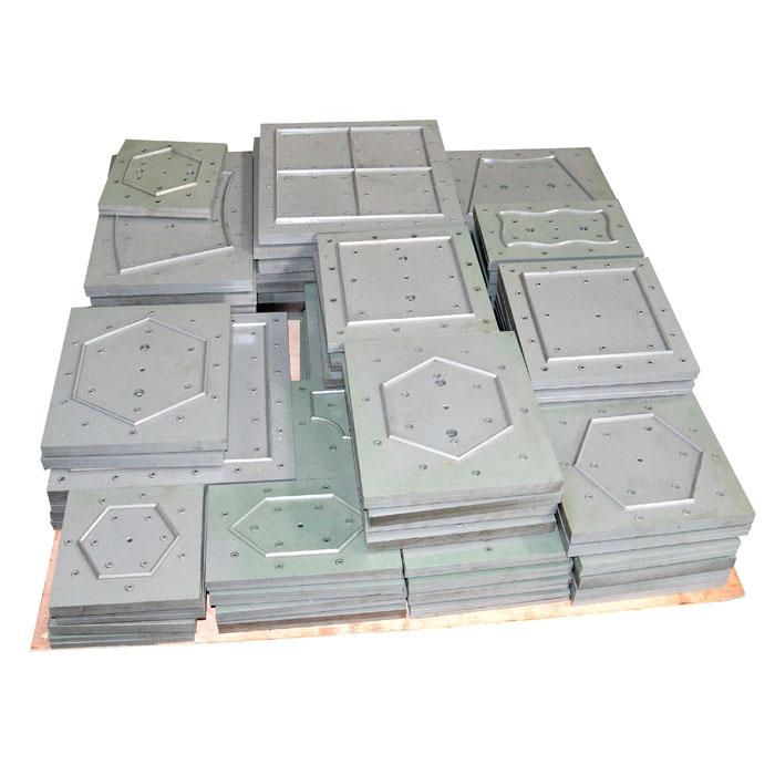 estampado de moldes y matrices para máquina de reciclaje de prensado de piedra
