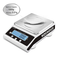 Hochoice 0.1g 0.01g 0.001g precision medical lab analytical electronic balance digital sensitive weighing scales manufacture