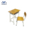 Adjustable Factory Outlet Wooden School Used Banquet Tables And Barber Shop Leather Material Chairs