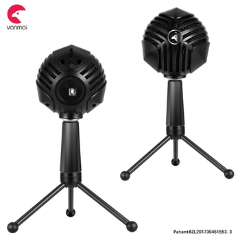 3 modes cool aliens GM-888B microphone for gaming, streaming, youtubers, etc