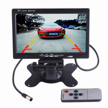 The newest high quality 24V 7inch truck monitor with visible Truck ultrasonic Parking Sensors