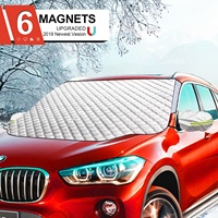 Hot Sale 4 Layers Waterproof Sun Shade Magnetic Windscreen Cover Universal For Most Suvs Car Windshield Snow Cover