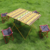4 man Outdoor ultralight portable  aluminum folding table and chairs for picnic