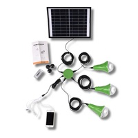 Easy CE home use led solar lighting kit;solar light home system with 1/2/3 lamps
