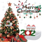 Family Family Sublimation Home Quarantine Resin Personalized Toilet Paper Decoration 2020 Christmas Ornaments