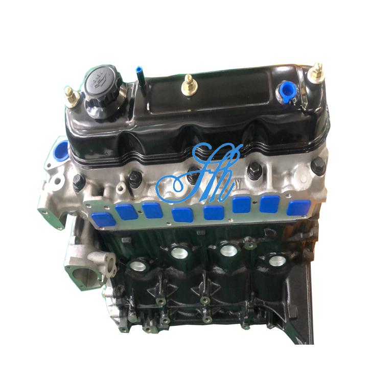 원래 블록 자동 엔진 어셈블리 모터 3Y 4Y Toyota