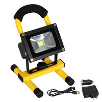 Outdoor Portable 10W 20W 30W 50W Battery Powered Rechargeable Led Floodlight