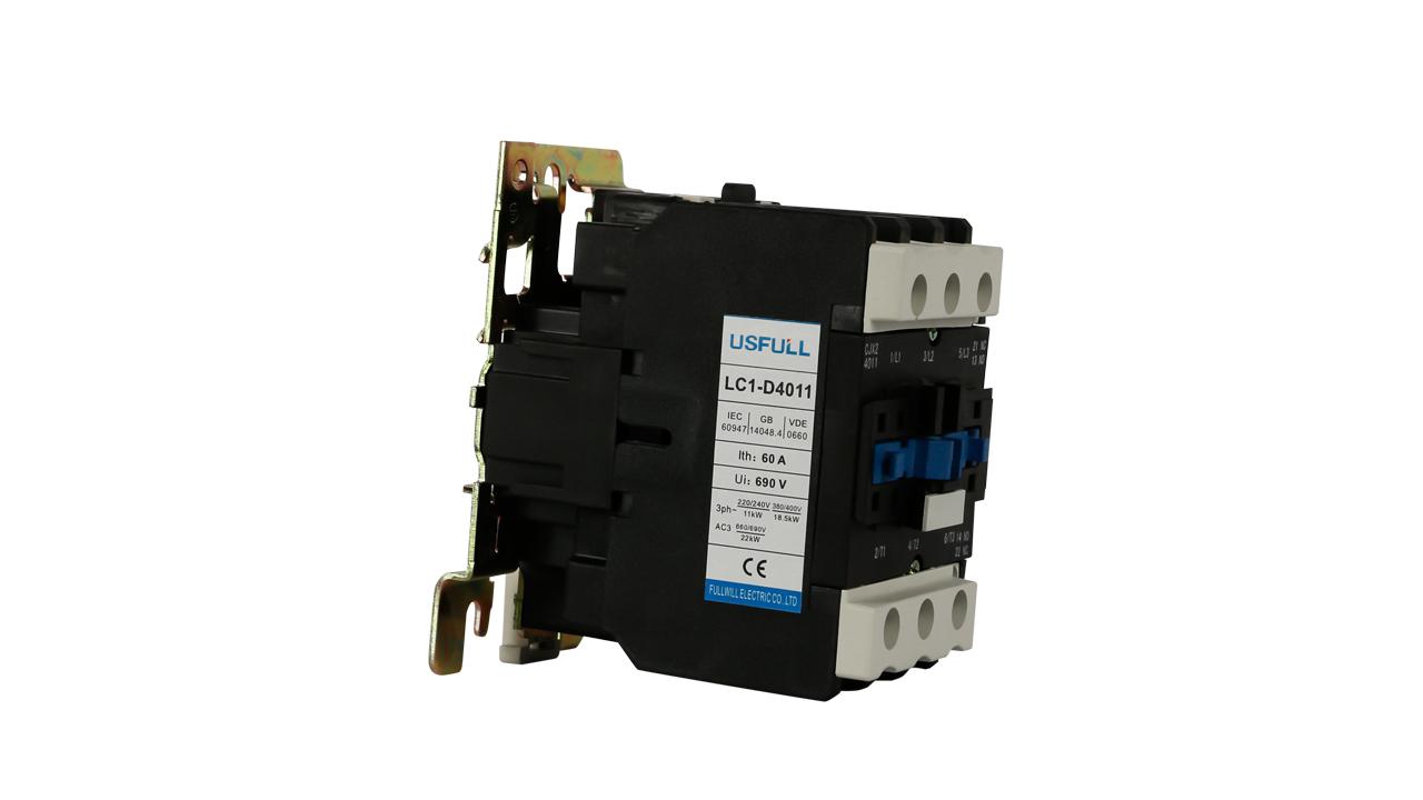 Útil 380V LC1-D18 magnética AC Contactor eléctrico contactor magnético LC1D telemecanique