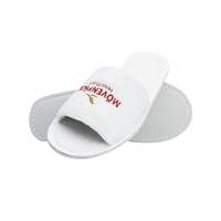 Factory Direct Cotton Waffle Slippers Hotel
