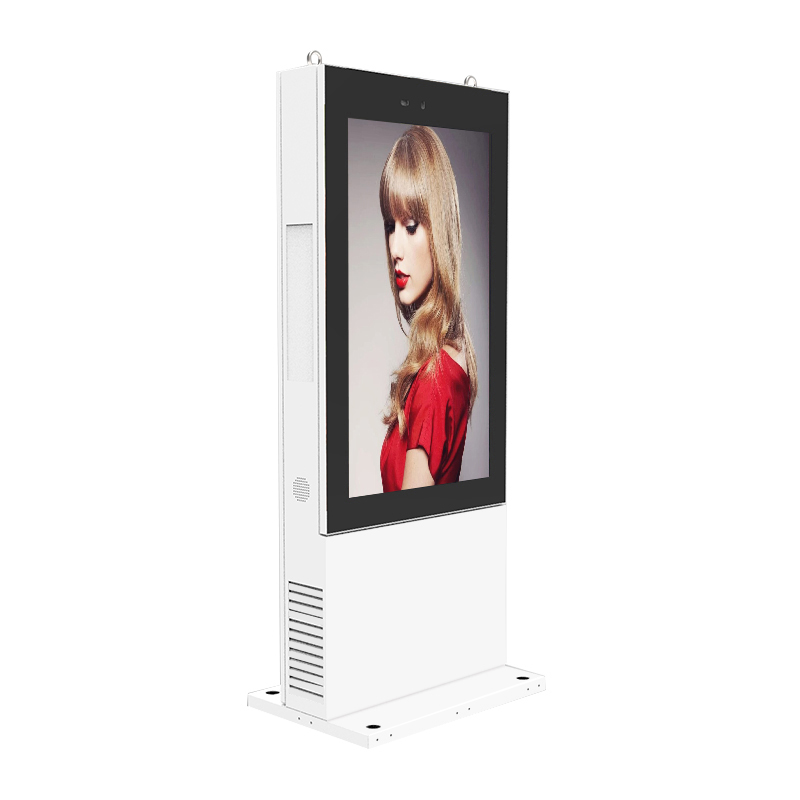 "Totem 55 ""outdoor lcd screen display"