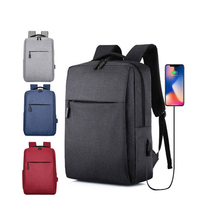 Trends 2019 OEM ODM Custom Mens Women Durable USB Charging Waterproof Business Laptop Backpack