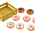 Funny toy plastic dessert toy,donut toy for kids