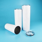 Wholesale Double Wall Stainless Steel Slim Tumbler 20oz Sublimation Blanks