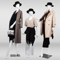 Custom fashion pose display female models, full body mannequin women for clothing display