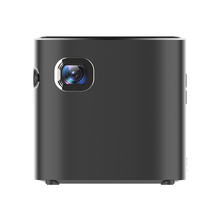 D019 Mini Projector 1500 Lumens 854X480 P Full HD Android DLP Mobile Laser Portabel LED <span class=keywords><strong>Proyektor</strong></span> Saku 3D 4 K untuk Home Theater
